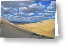 Kelso Sand Dunes Greeting Card