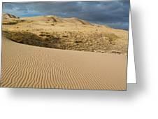 Kelso Singing Sand Dunes  Greeting Card