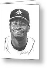 Ken Griffey Jr Greeting Card
