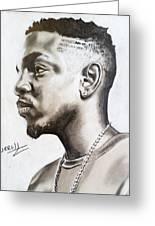 Kendrick Lamar Greeting Card