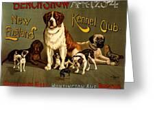 Kennel Club Greeting Card