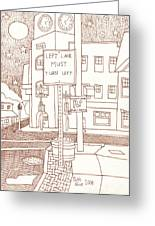 Kennett Square State And Union Greeting Card