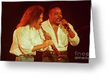 Kenny G-peabo Bryson-95-1376 Greeting Card