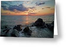 Kent Island Mother's Day Sunset Greeting Card