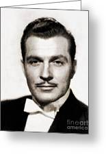 Kent Taylor, Vintage Actor Greeting Card
