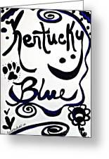 Kentucky Blue Greeting Card