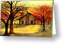 Kentucky Cabin Greeting Card