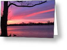Kentucky Dawn Greeting Card