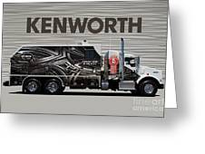 Kenworth Proudly Made In The Usa Greeting Card