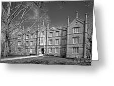 Kenyon College Bexley Hall Greeting Card by University Icons