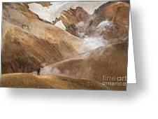 Kerlingafjoll Mountain Greeting Card