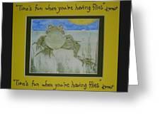 Kermit Sez Greeting Card