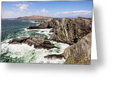Kerry Cliffs Greeting Card