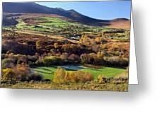 Kerry Ireland Autumn Landscape Greeting Card