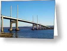 Kessock Bridge Inverness 2 Greeting Card