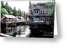 Ketchikan Alaska Greeting Card