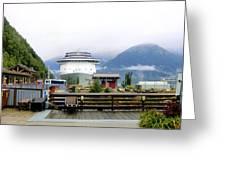 Ketchikan Alaska  Greeting Card by Mindy Newman