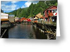 Ketchikan Creek Greeting Card
