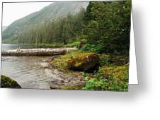 Ketchikan's Misty Fjord Greeting Card