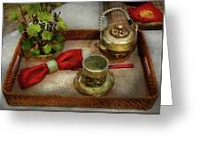 Kettle - Formal Tea Ceremony Greeting Card