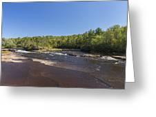 Kettle River Big Spring Falls 1 Greeting Card