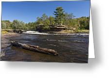 Kettle River Big Spring Falls 6 Greeting Card