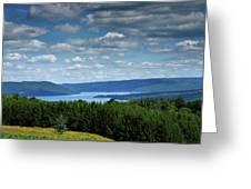 Keuka Landscape V Greeting Card