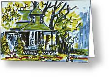 Kew Gardens Gardener's Cottage Greeting Card