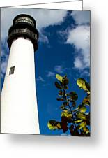 Key Biscayne Lighthouse, Florida Greeting Card