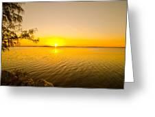 Key Largo Sunrise 2 Greeting Card