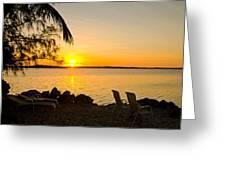 Key Largo Sunrise Greeting Card