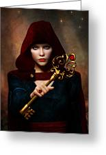 Key Of Wisdom Greeting Card