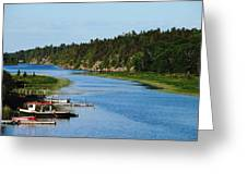 Key River Greeting Card