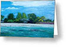 Key West Beach Greeting Card