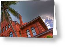 Key West Customs House Greeting Card