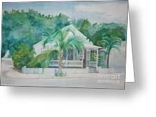 Key  West House Greeting Card