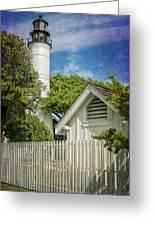 Key West Lighthouse Dsc01547_16 Greeting Card