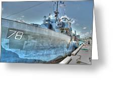 Key West Navy Ship Greeting Card