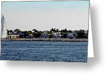 Key West Panorama Greeting Card