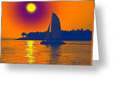 Key West Passion Greeting Card