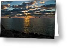 Key West Sunset 10 Greeting Card