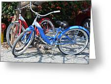 Key West Vintage Bicycles Greeting Card