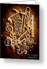 Keys Of A Symphonic Orchestra Greeting Card