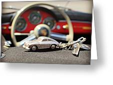 Keys To The Porsche Greeting Card