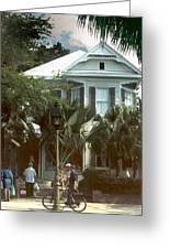 Keywest Greeting Card by Steve Karol