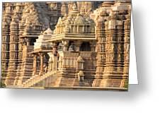 Khajuraho Temple, Chhatarpur District Greeting Card