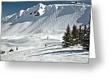 Kicking Horse Cpr Ridge Greeting Card
