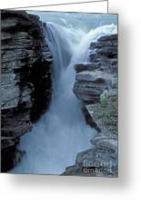 Kicking Horse River Greeting Card