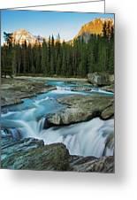 Kicking Horse River Greeting Card