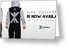 Kids Jumpsuits Greeting Card